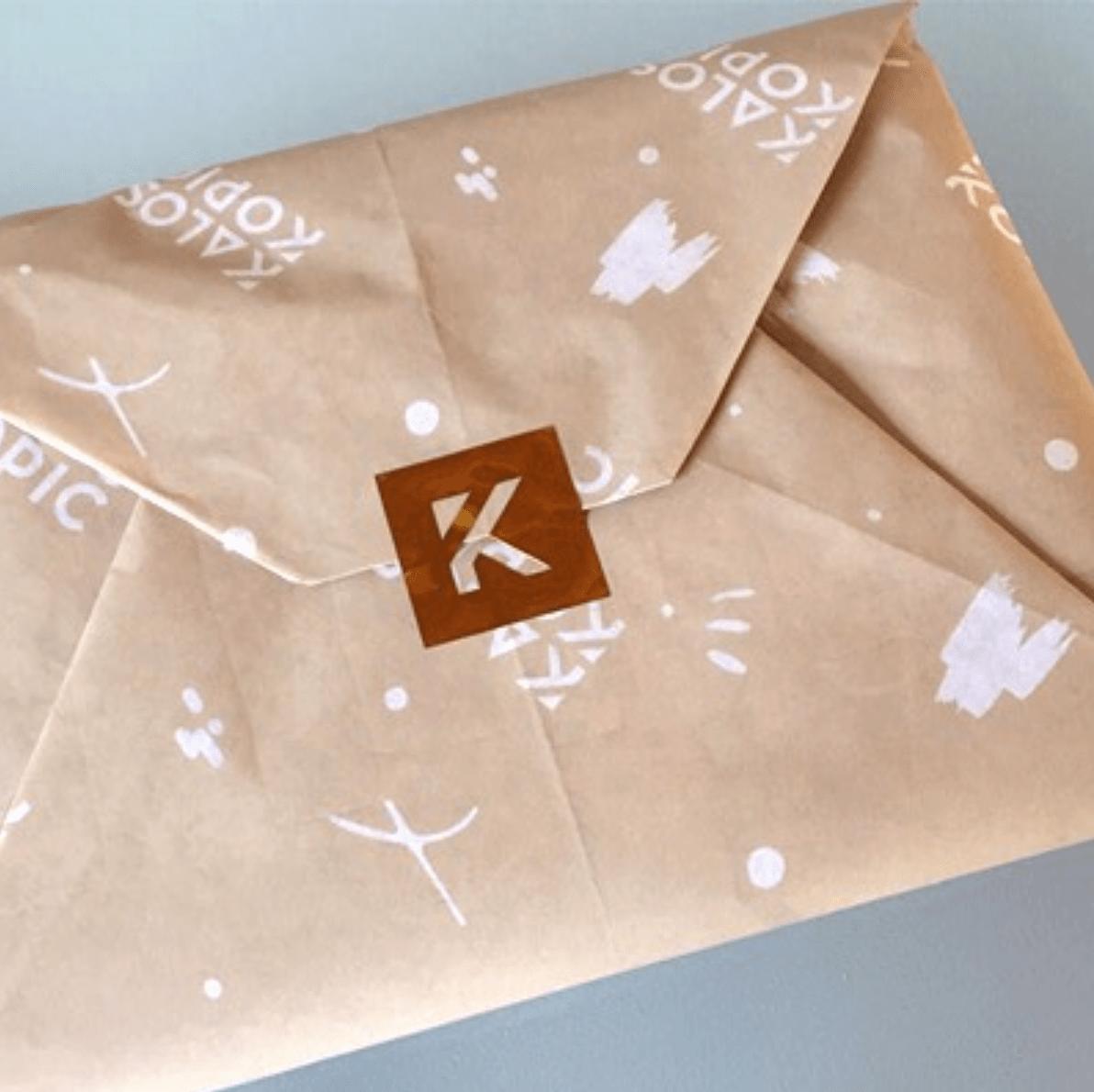 Kaloskopic custom tissue paper