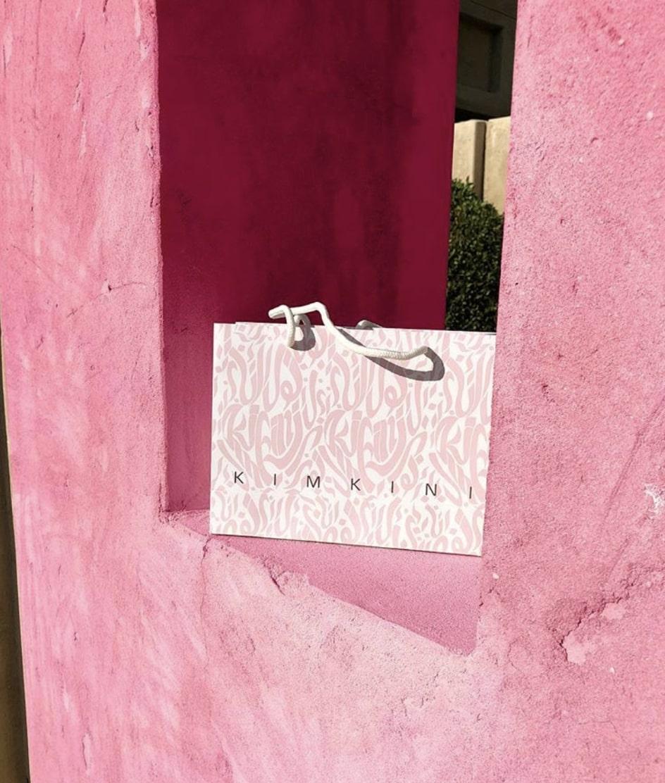 Branded KIMKINI shopping bag
