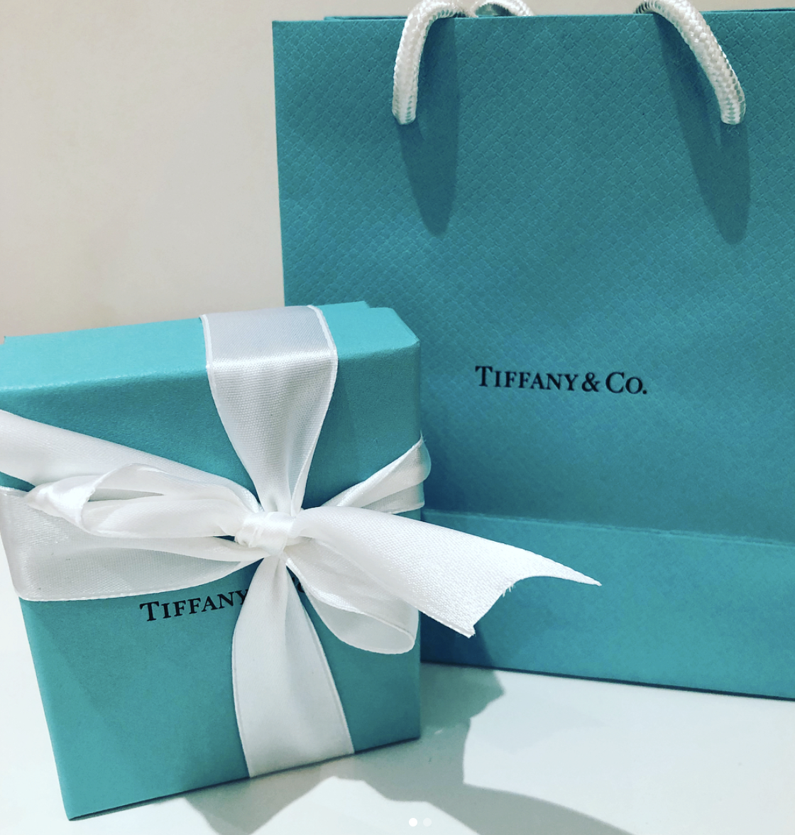 The Tiffany 'blue box'