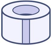 Standard - 7.2cm x 50m